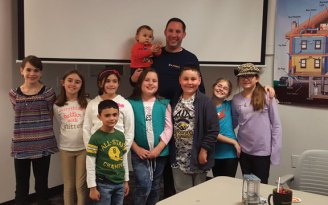 Girl Scout Troop 64518 from Naugatuck recently learned about energy conservation with Chris Borucki, a building analyst from the School for Energy Efficiency at Wesson Energy. -CONTRIBUTED