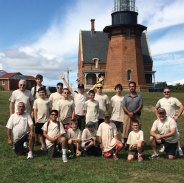 Prospect Boy Scout Troop 257 went to Block Island, R.I., Sept. 12 and biked over 10 miles around the island. The trip included a stop at the South East Lighthouse located above the Mohegan Bluffs. -CONTRIBUTED