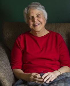 Trish Zappone sits in her Prospect home and explains her need for a live liver donor transplant. -REPUBLICAN-AMERICAN