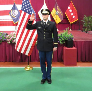U.S. Army 2nd Lt. Matthew Conor Hale, a 2011 graduate of Woodland Regional High School, started the Basic Officer Leaders Course in Fort Benning, Ga., in March. Hale will spend eight months at Fort Benning and then be assigned to Fort Bliss, Texas. Hale is the son of Kevin and Carrie Hale of Beacon Falls. –CONTRIBUTED