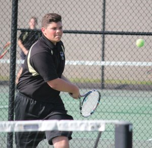 Woodland's No. 1 singles player Mike Roulanaitis advanced to the semifinals of the NVL individual tournament. –FILE PHOTO
