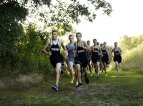 Naugatuck hosted Kennedy, Woodland and Seymour in the first cross country meet of the season Tuesday afternoon at Hop Brook in Middlebury. The Naugatuck boys and the Woodland girls swept the meet. -REPUBLICAN-AMERICAN