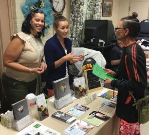 The Naugatuck Senior center held its 12th annual Naugatuck Senior Day Sept. 15. Over 300 people attended the event, which featured 50 social service and health information booths for seniors. –CONTRIBUTED