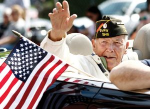 U.S. Navy veteran Robert Burns, a Naugatuck resident and longtime burgess, will be inducted into the Connecticut Veterans Hall of Fame. -REPUBLICAN-AMERICAN ARCHIVE