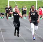The Woodland boys and girls track teams hosted Derby and Waterbury Career April 26 at Woodland Regional High School in Beacon Falls. –ELIO GUGLIOTTI