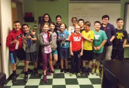 Fifth-graders at Laurel Ledge Elementary School in Beacon Falls that are involved in the district's enrichment program held their first Invention Convention on May 16. Students planned and developed an original invention and then presented their idea to their peers and staff. –CONTRIBUTED