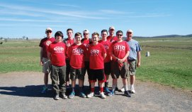 Boy Scouts from Troop 109 in Naugatuck recently took a trip to Gettysburg, Pa. –CONTRIBUTED
