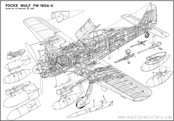FW190A5 :: Mycity-Military.com