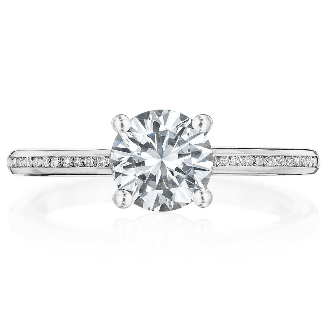 Classic Channel Set Engagement Ring