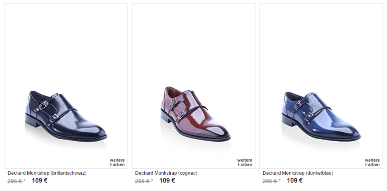 Deckard Herrenschuhe Sale bei Amazon BuyVIP