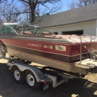Vintage 1987 Cobalt 18 Bowrider For Sale