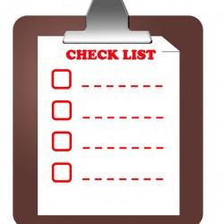 Checklist Audit List