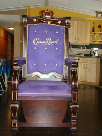 crown royal kings chair