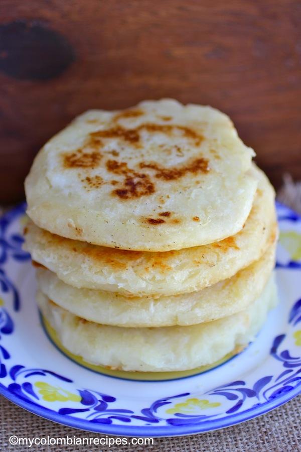 Arepas de Yuca Cassava Arepas  My Colombian Recipes