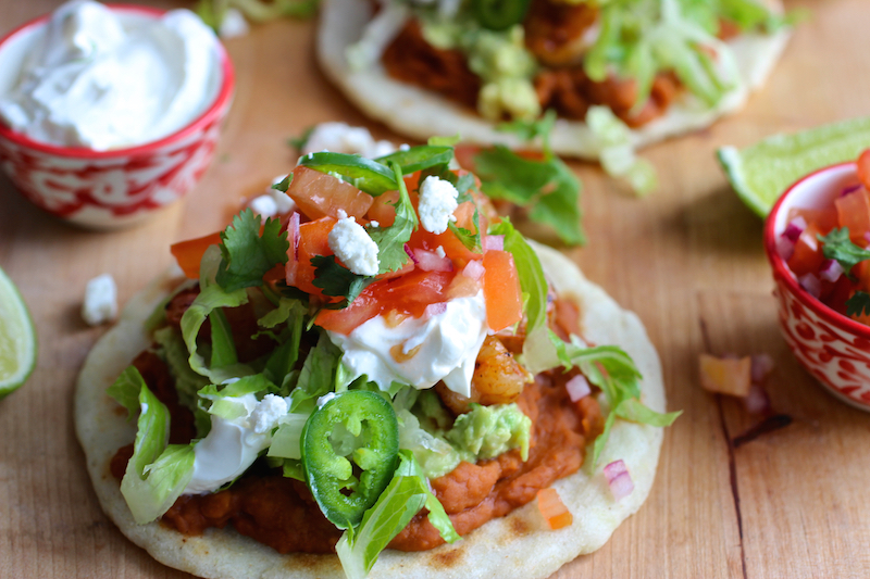 Chipotle Shrimp MexicanStyle Arepa  My Colombian Recipes