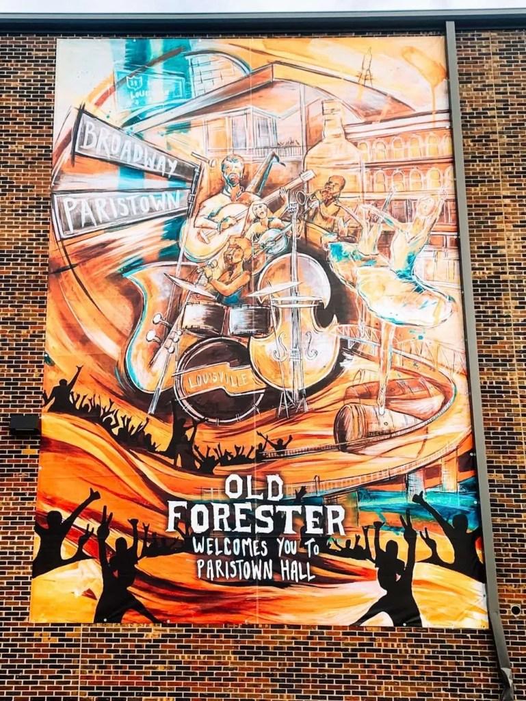 Paristown Hall Old Forester - Louisville, kentucky Murals