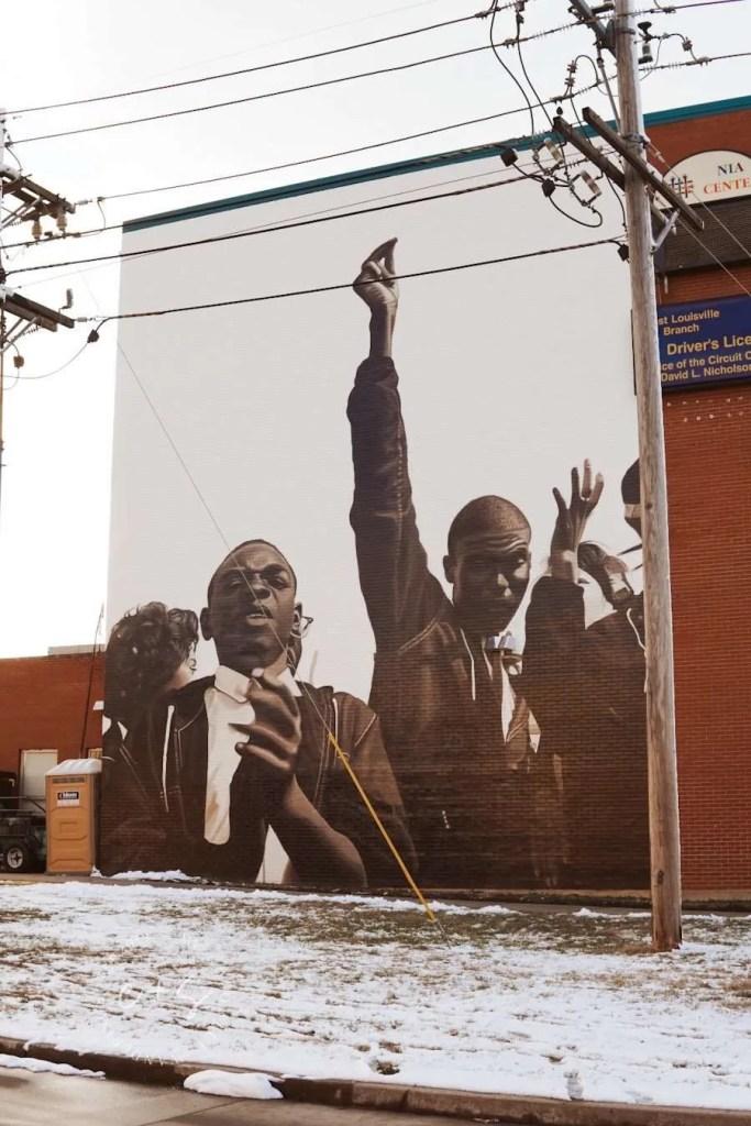 Nia Community Center Civil Rights Mural - Louisville Murals