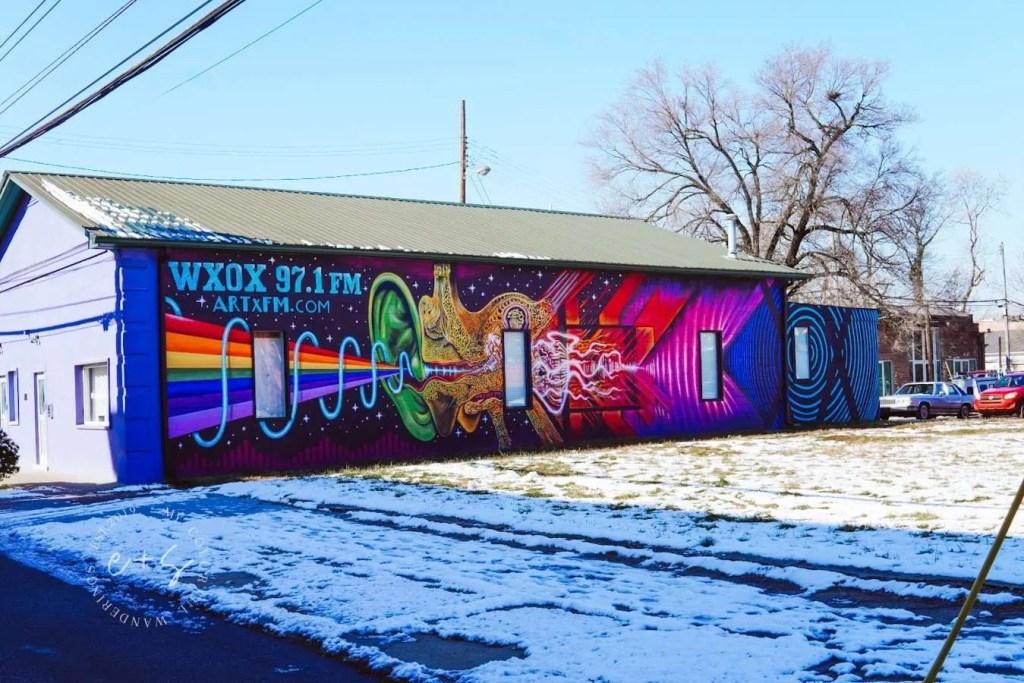 ArtxFM Mural - Hippie Hearing Mural - Louisville The Art Cartel Murals