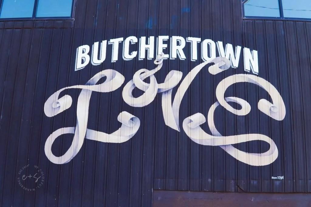 Butchertown Love Mural - Louisville Murals