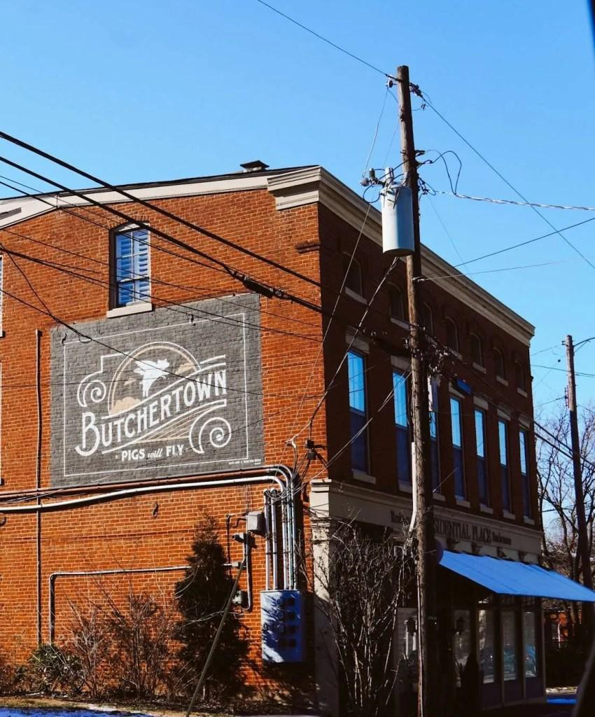 Pigs Will Fly Butchertown Mural - Louisville Murals
