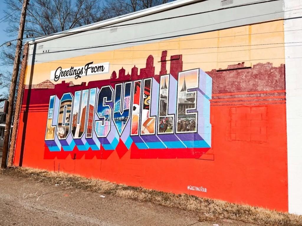 Greetings from Louisville Mural