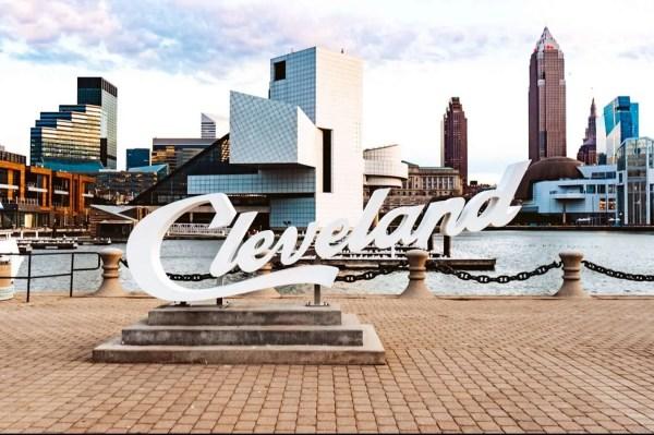 Cleveland Script Signs - Machine Gun Kelly Cleveland Ohio