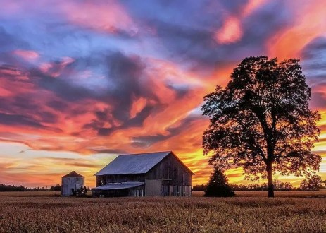 Best sunsets in the US, prettiest sunsets in the US, where to see the best sunsets in Kentucky, where to see the best sunsets in the USA