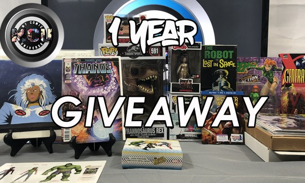 My Comic Universe 1 Year Giveaway!