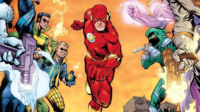 flash war dc rebirth comics