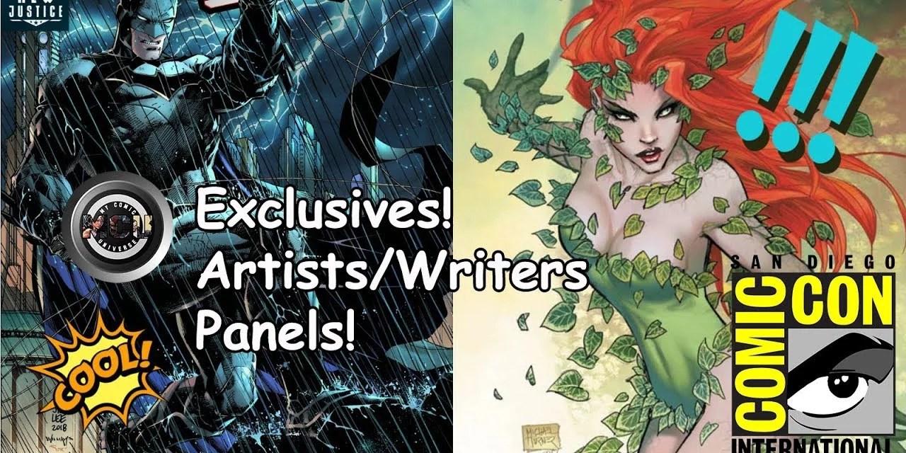 San Diego Comic Con – SDCC 2018   Talks Comics! #11