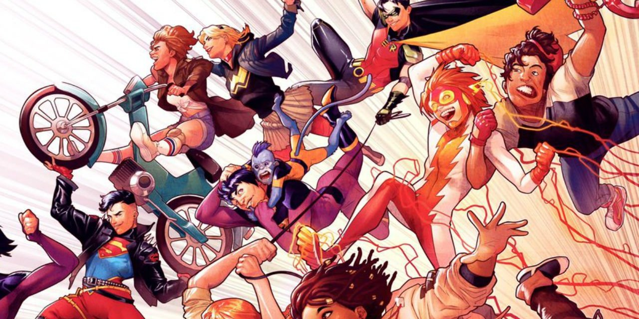 Young Justice by Brian Michael Bendis