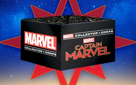 marvel collector corps captain marvel unboxing
