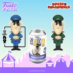 funko fair day 3 toy fair 2021 sports and games rocky and bullwinkle fearless leader blue uniform chase chance soda figure limited edition