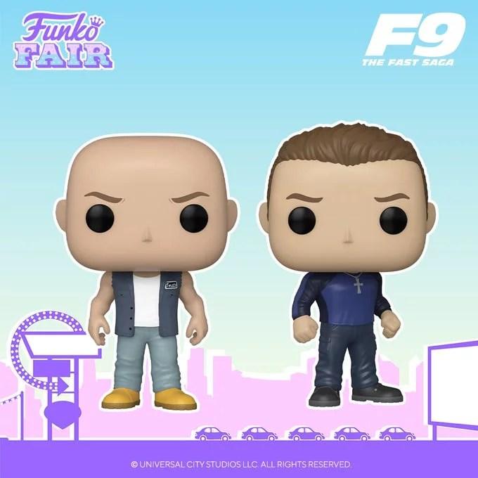 funko fair day 5 movies toy fair 2021 fast and furious 9 saga dom dominic jakob toretto pop