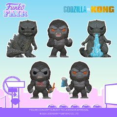 funko fair day 7 animation toy fair 2021 godzilla vs versus king kong battle ready heat ray scarred with weapon pop