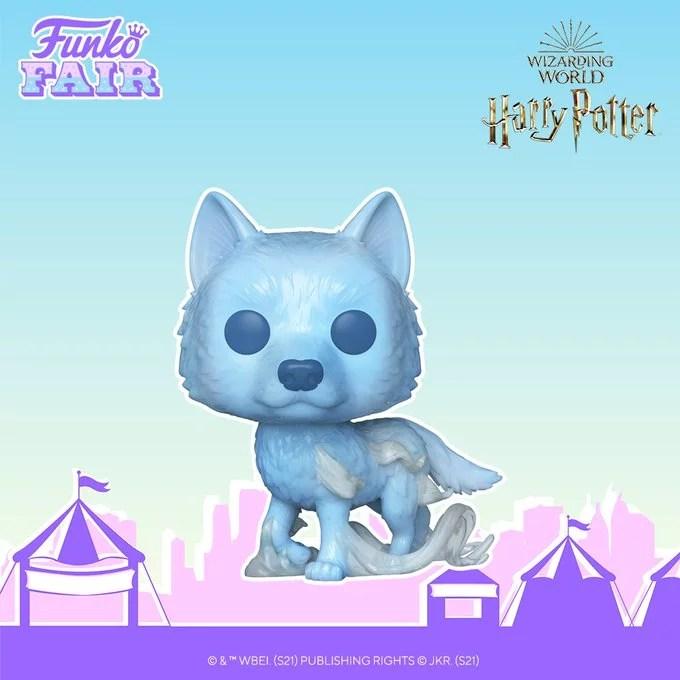 funko fair day 5 movies toy fair 2021 harry potter lupin patronus pop wizarding world