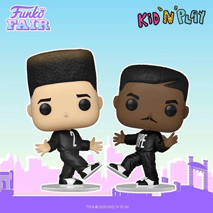 funko fair day 9 toy fair 2021 dc comics and music kid n 'n play pop