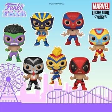 funko fair day 4 2021 marvel lucha libre