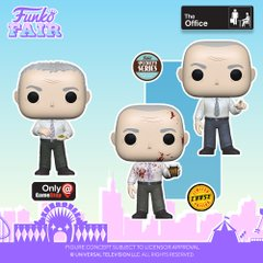 funko fair day 6 toy fair 2021 tv shows television the office creed pop gamestop specialty series exclusive bloody chase