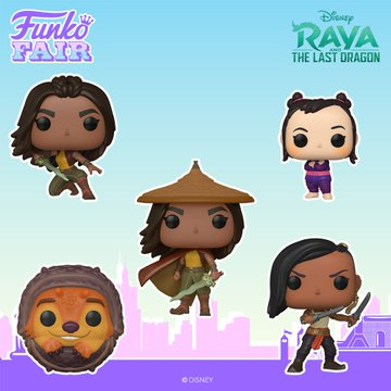 funko fair day 8 toy fair 2021 disney raya and the last dragon pop