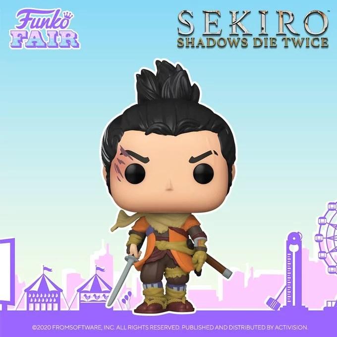 funko fair day 3 toy fair 2021 sports and games sekiro shadows die twice pop