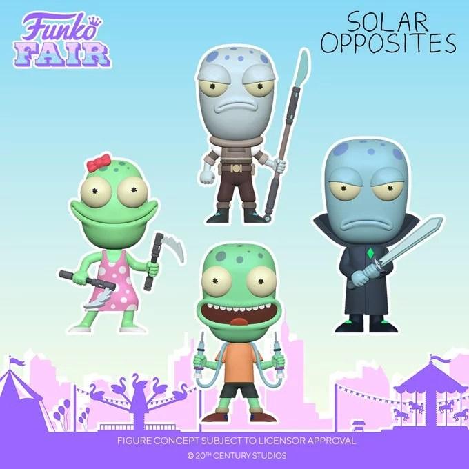funko fair day 7 animation toy fair 2021 solar opposites jesse terry korvo yumyulack pop