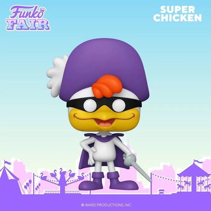 funko fair day 7 animation toy fair 2021 super chicken pop