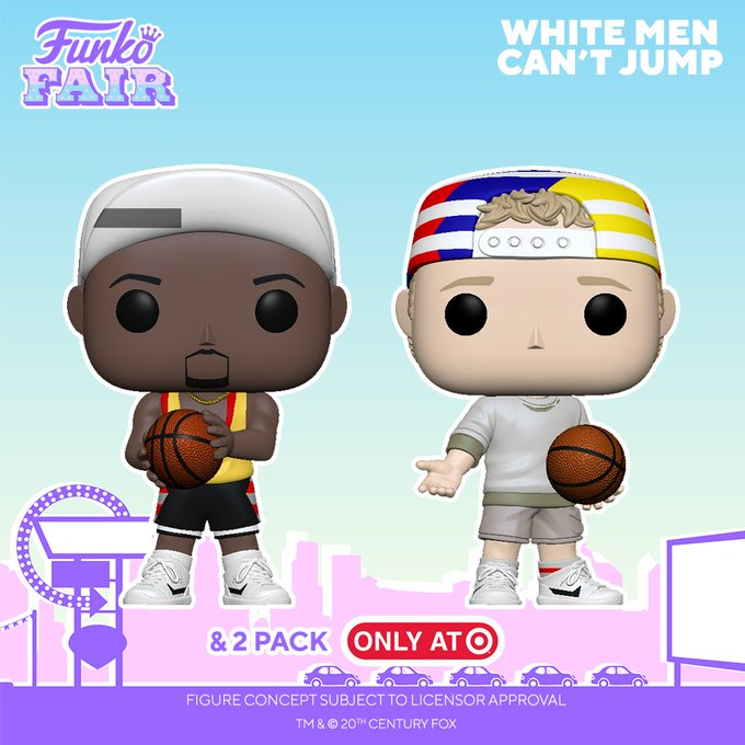 funko fair day 5 movies toy fair 2021 white men cant jump pop sidney deane billy hoyle