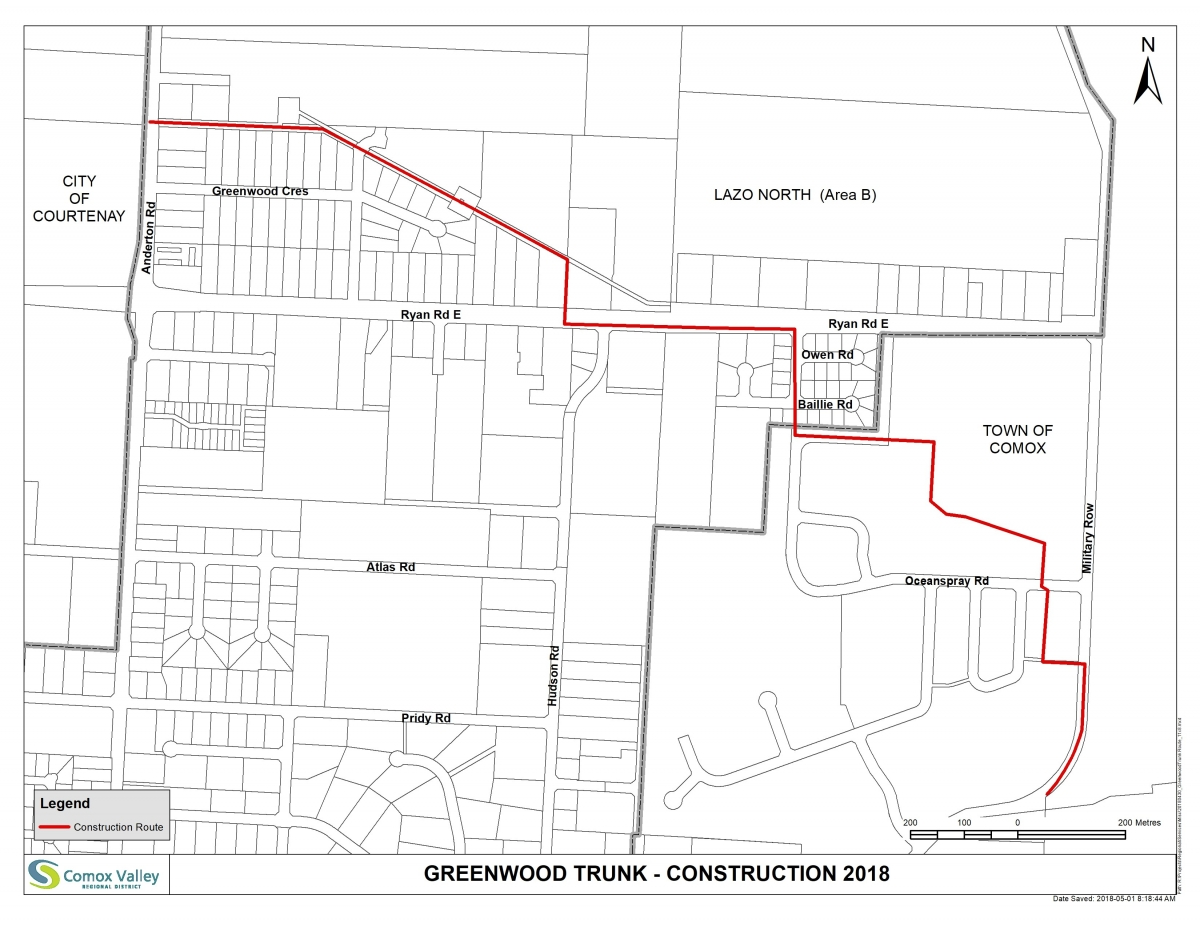 Greenwood Sewer Line Officially Finished Cvrd