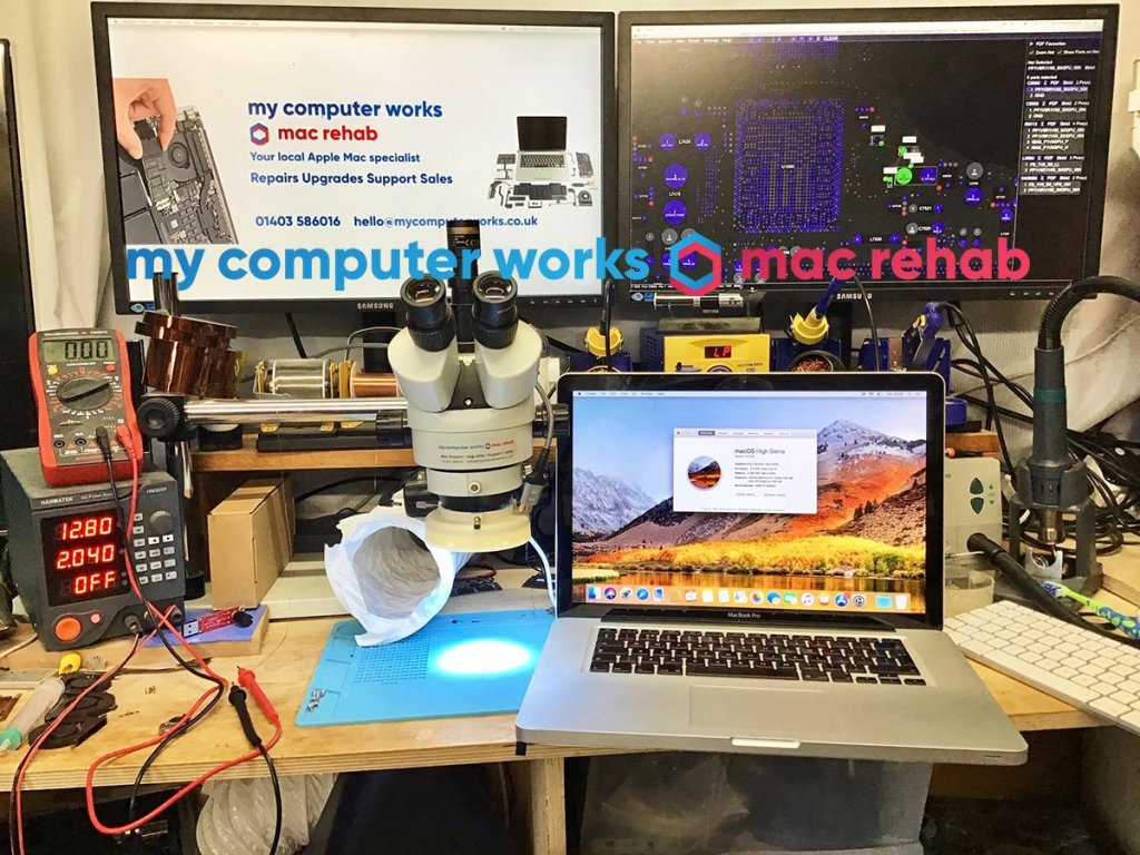 Mac help fix repair horsham