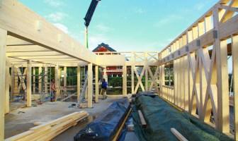 Holz Unterkonstruktion Haus