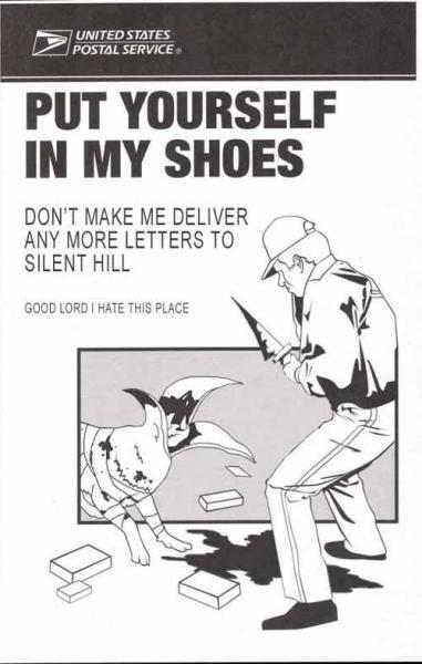 Silent hill postal wokers