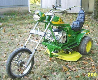 Kick Ass Lawnmower