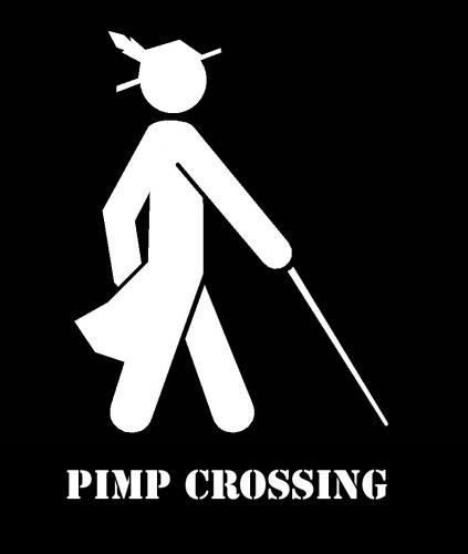 pimp-crossing